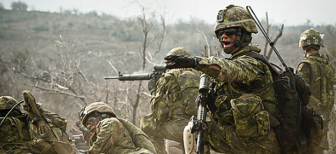 Canadian armed forces photos