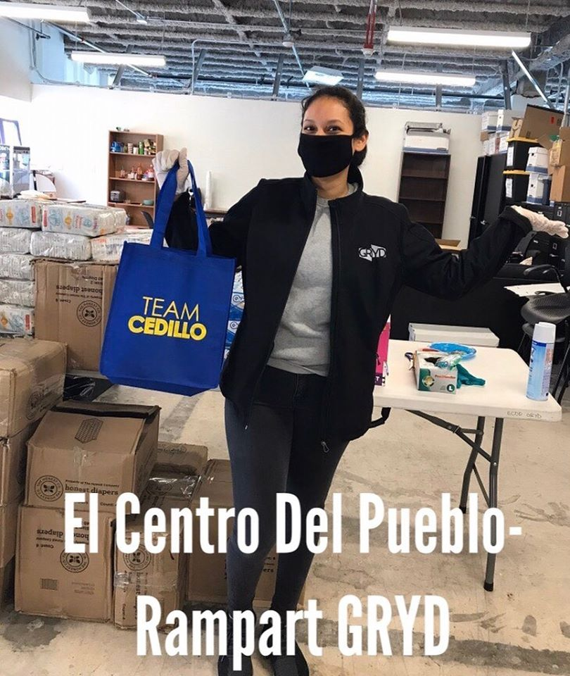 Dropping Masks at El Centro Del Pueblo 3-26-2020
