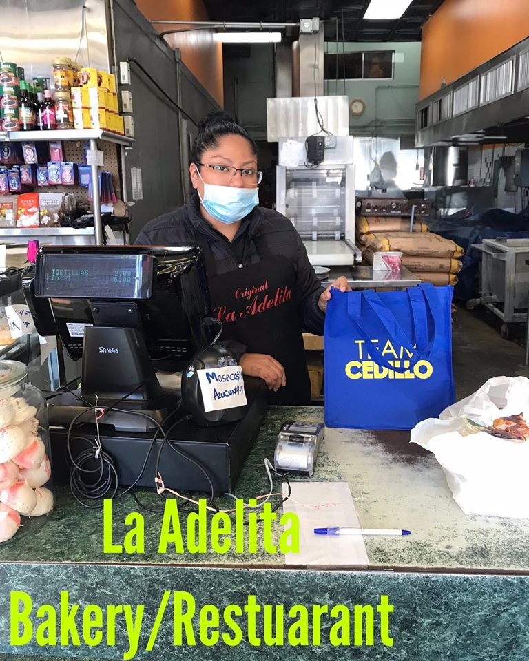 Masks Dropped at Adelita Bakery