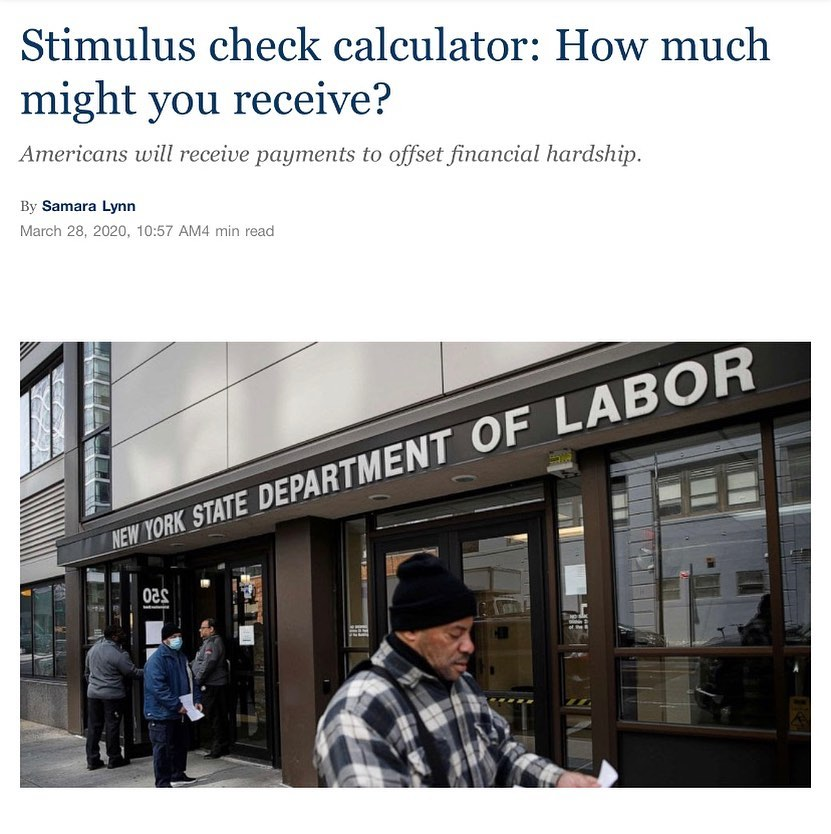 Stimulus Calculator 4-2-2020