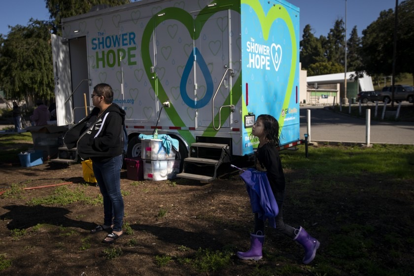 Shower of Hope - Expansion LA Times
