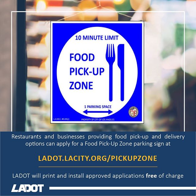 Food Pick up Zone