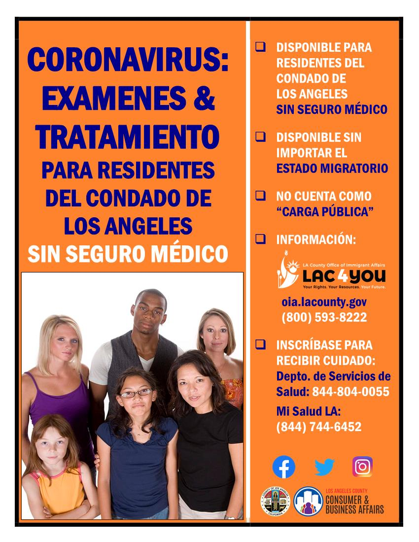 OIA Insurance Flyer Spanish