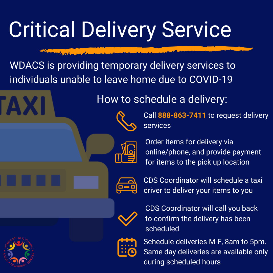 Critical Delivery Services Post 1