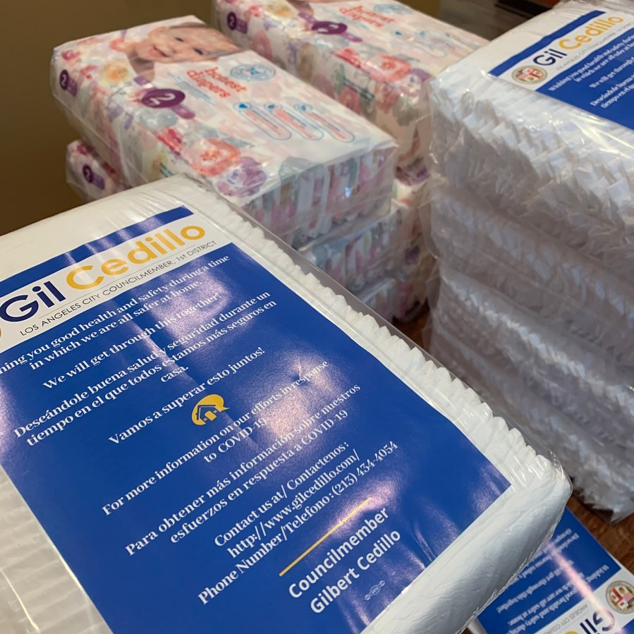 Packing Diapers 4-17-2020