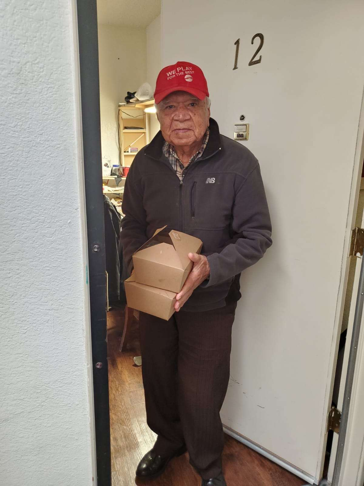 Pico Union Housing Corporation delivered hot meals Encanto Senior Housing 4-21-2020 #1