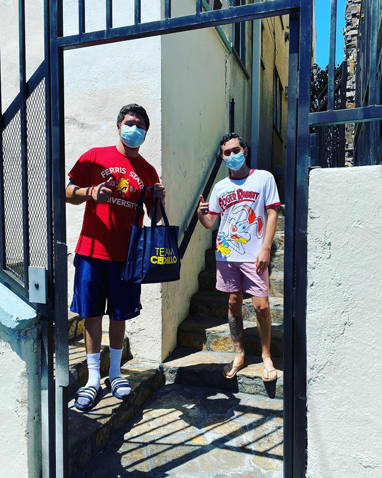 Temple Beaudry Receive Masks 4-22-20