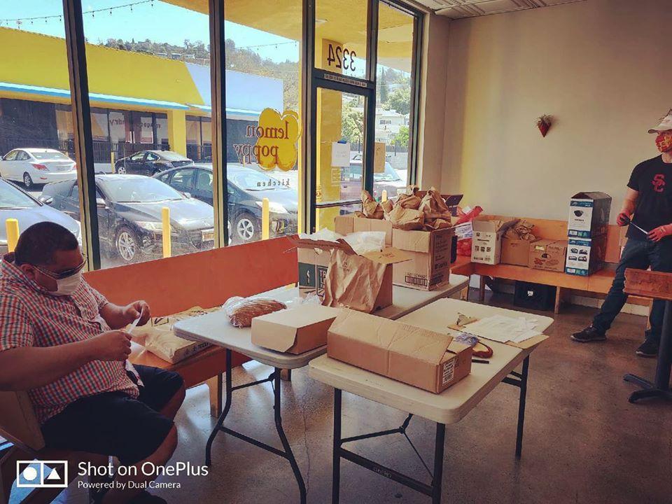 Glassell Park's Lemon Poppy to deliver food to seniors 4-24-2020 #2