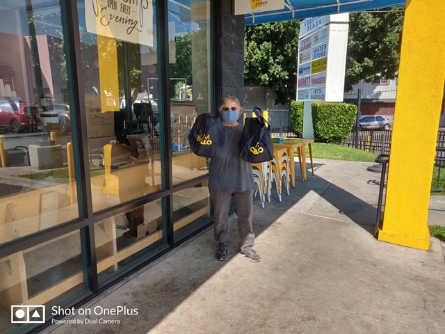 Glassell Park Improvement Association and Greater Cypress Park NC receive masks 4-28-2020