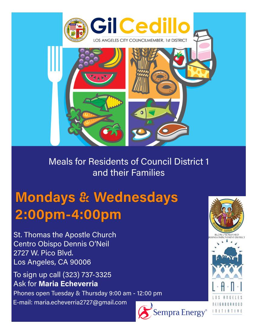 St. Thomas Meal Program