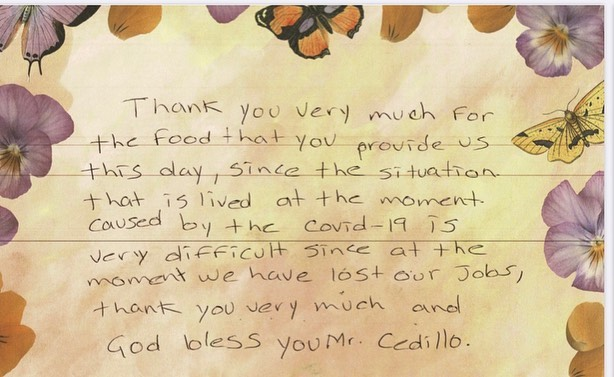 Constituent Thank You letter 4-30-2020 #1