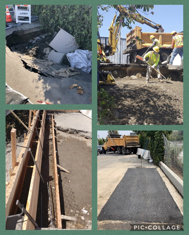 BSS Carlota Blvd Project in Sycamore Grove April 2020