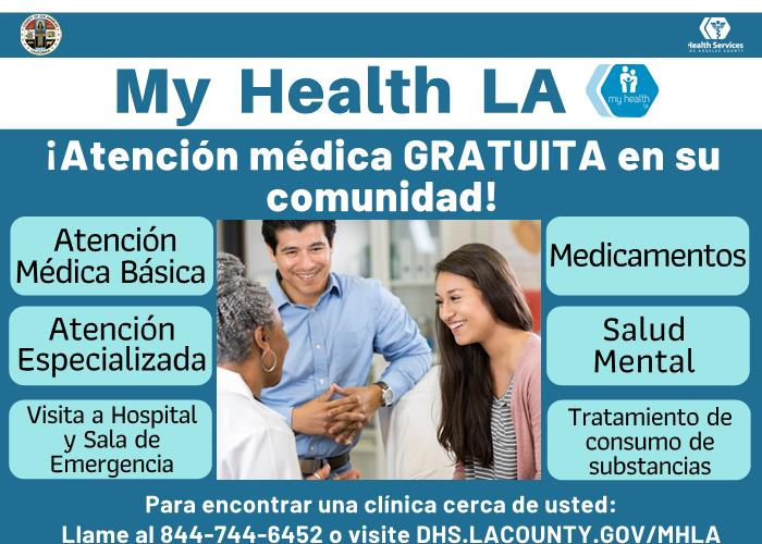 My Health LA Free Healthcare Spanish 5-7-2020 Page 1