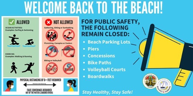 Beaches Reopening Guidelines