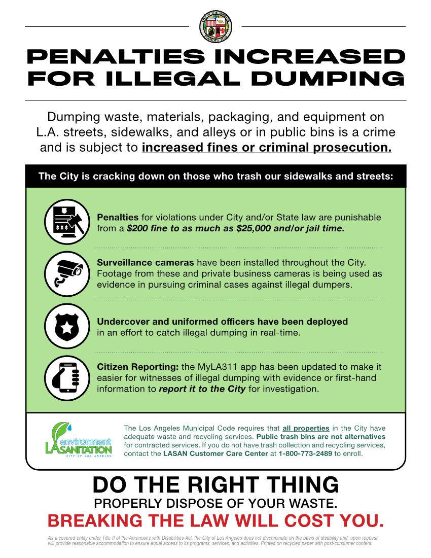 Illegal Dumping English