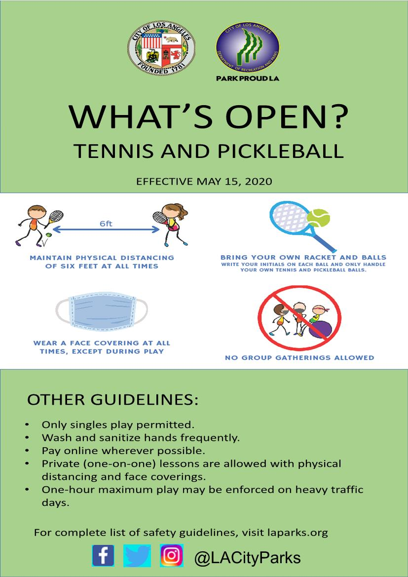What's Open Tennis & Pickleball