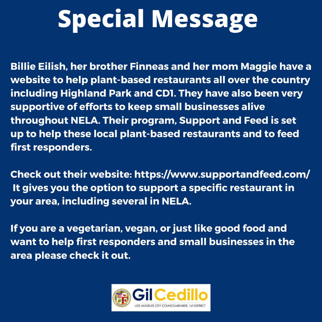 Billie Elish Support and Feed Program