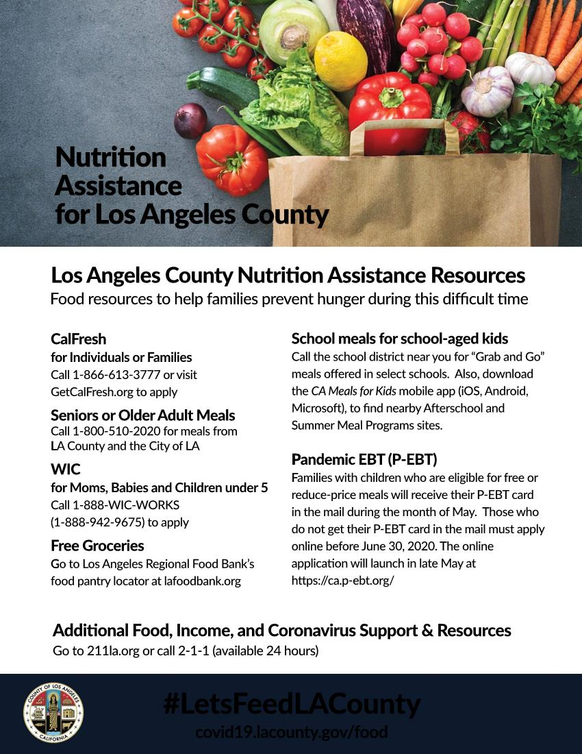 Nutrition Assistance for LA County ENGLISH