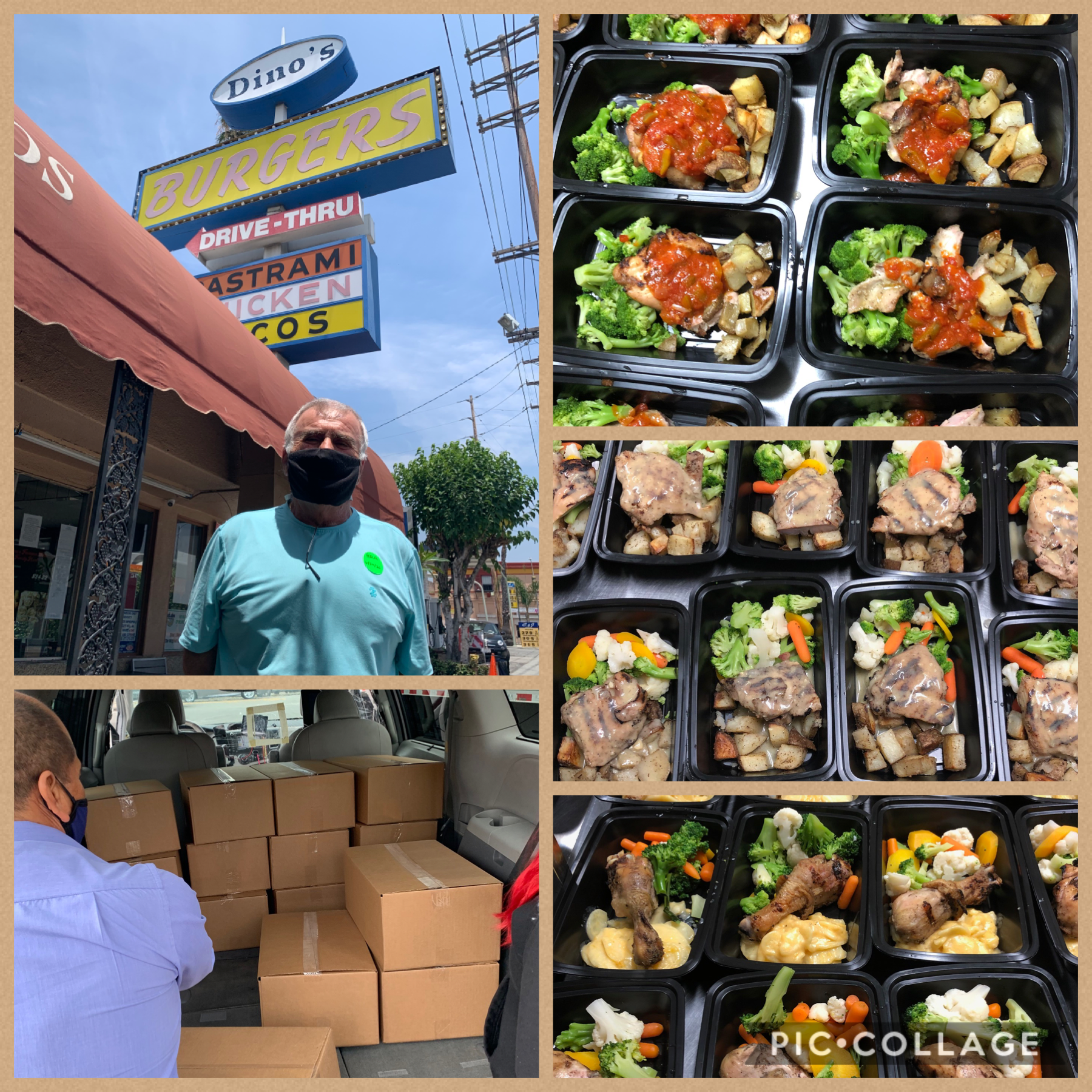 Dinos Senior Meals Program- Lincoln Heights 6-25-2020