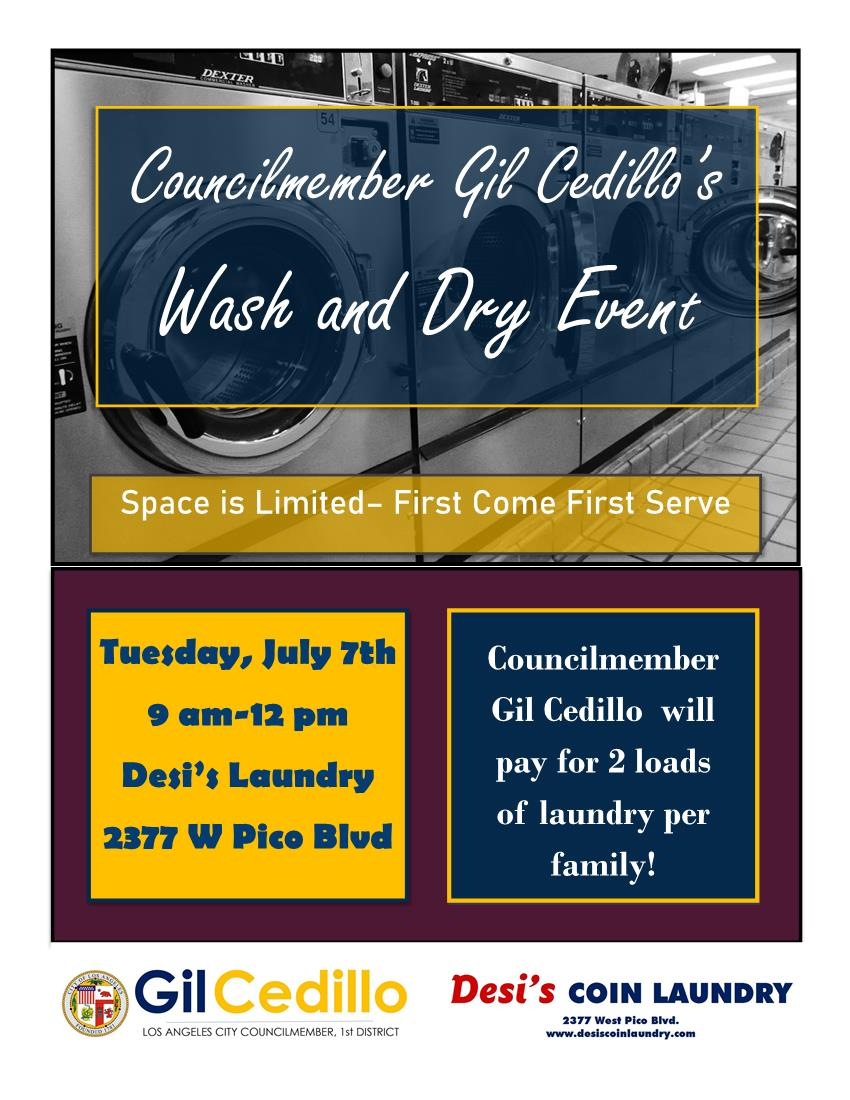 Laundry Day Flyer English 7-7-2020