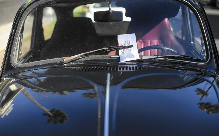 Street sweeping tickets will not reappear in Los Angeles Photo by Gina Ferazzi  Los Angeles Times 7-1-2020