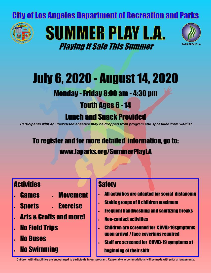 Summer Play LA RAP English 6-30-2020