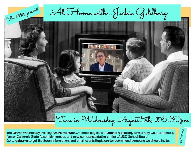 At Home with Jackie Goldberg GPIA