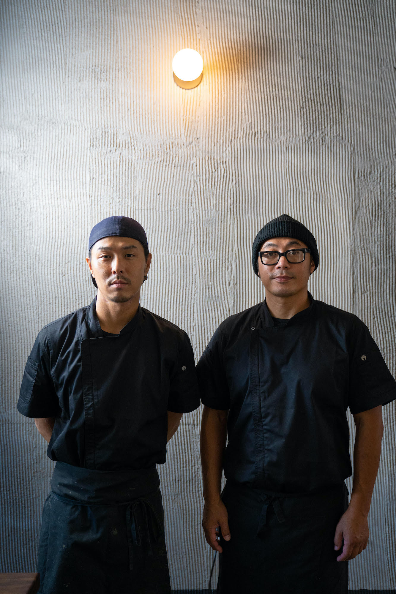 Ichijiku Chefs Kosaka and Yamada - Photo Credit Robert Campbell