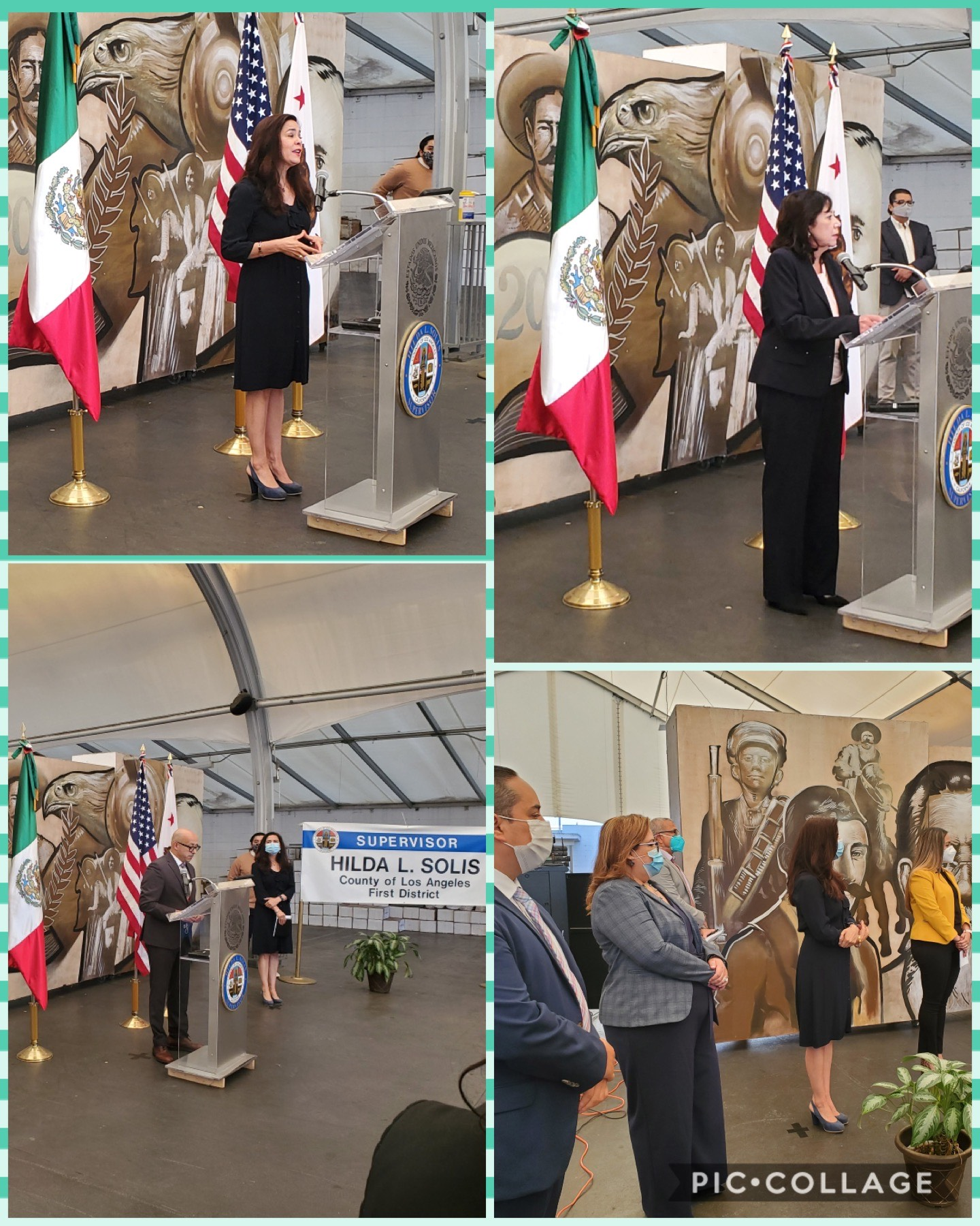Mexican Consulate Testing Launch 8-12-2020 COLLAGE