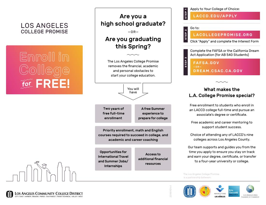 Los Angeles College Promise ENGLISH