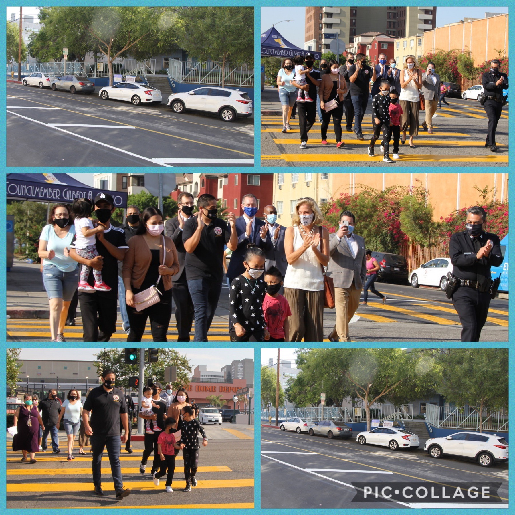 Safe Streets For Schools 9-18-2020 COLLAGE