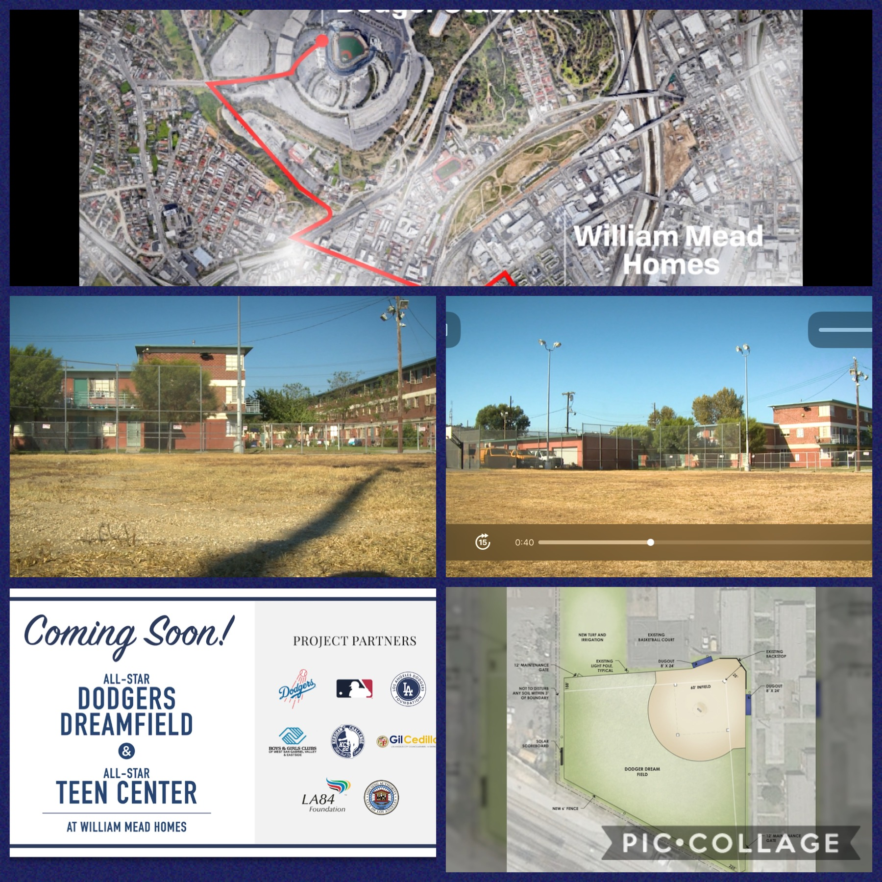 William Mead Homes All-Star Dream Field 9-17-2020 COLLAGE