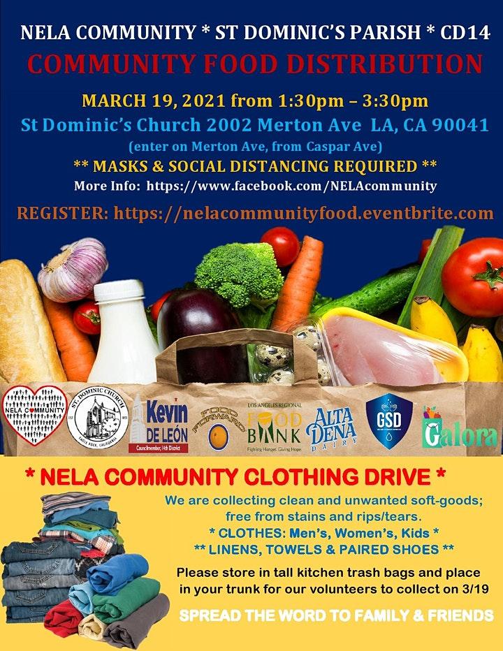 NELA St Dominic's Food Distribution 3-19-2021