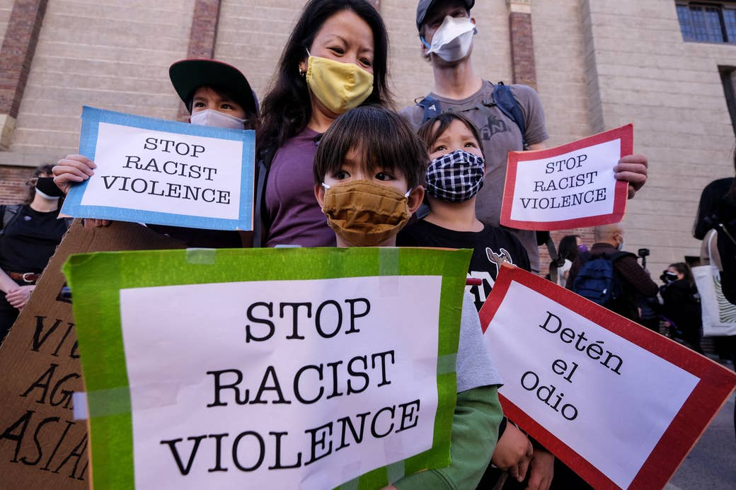 Stop Asian Hate Photo Credit Rigot Chiu, Getty Images