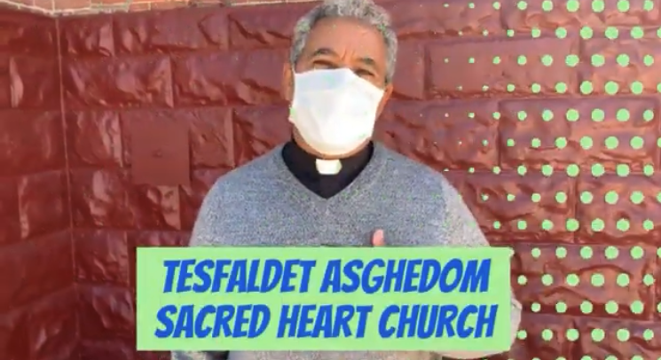 Get Vaccinated Father Tes, Sacred Heart Catholic Church  3-23-2021