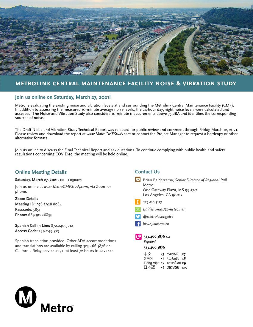 Metro CMF Study Meeting Flyer 030821_Final Page 1