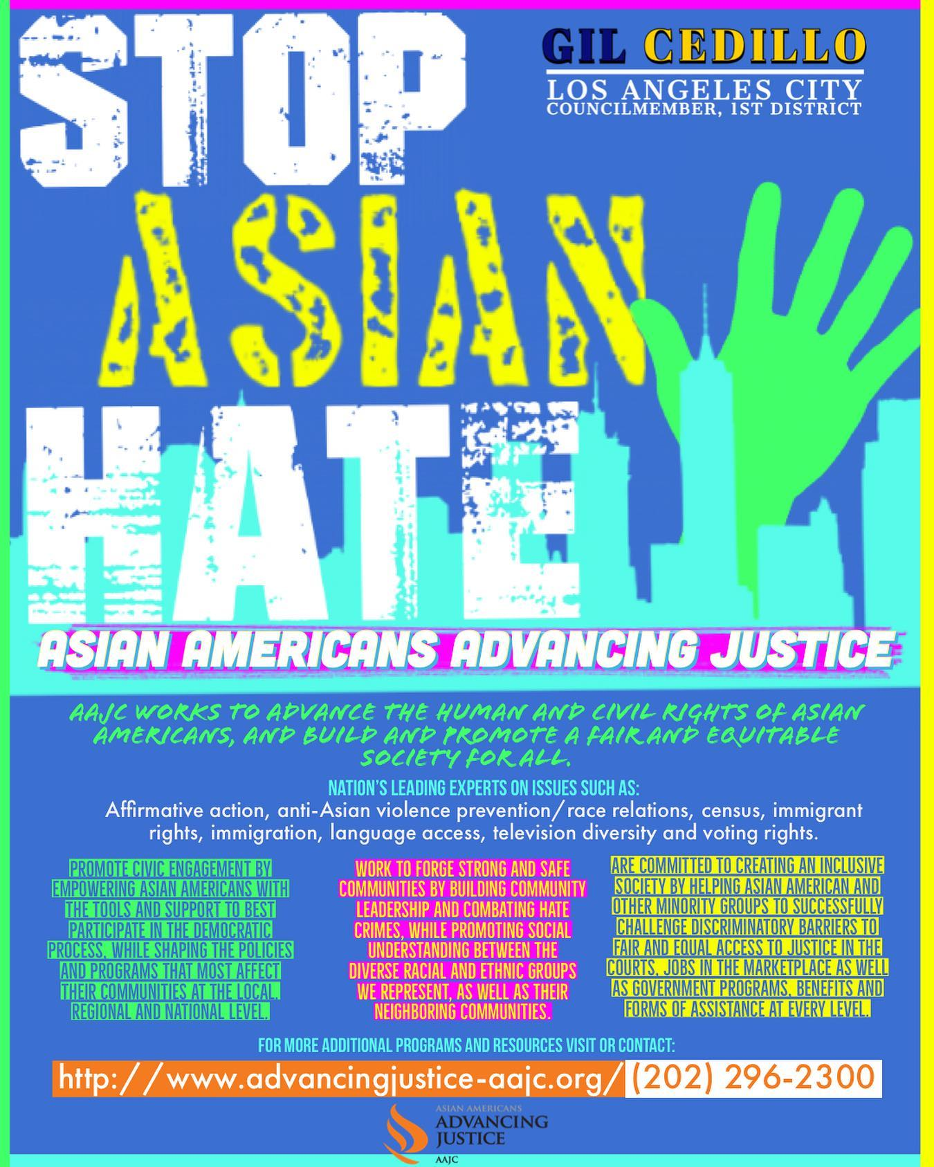 Second Flyer Stop Asian Hate
