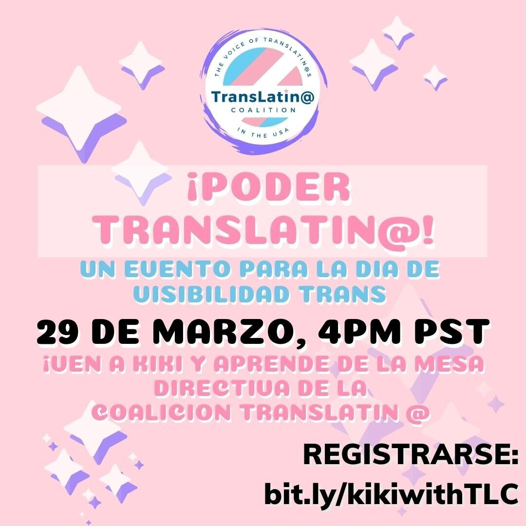 Trans Day of Visability Event 3-29-2021 SPANISH