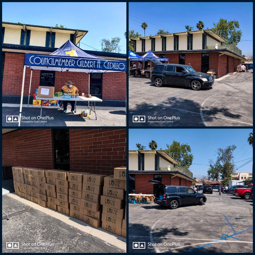Cedillo, Arroyo Seco NC, Foursquare Church - Food, PPE, diapers to Montecito Heights & Sycamore Grove Collage
