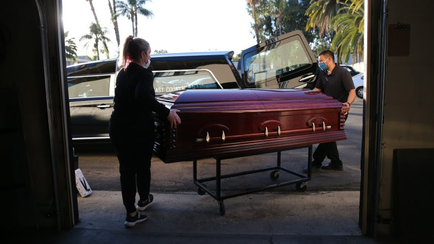 Funeral Casket Mario Toma Getty Images