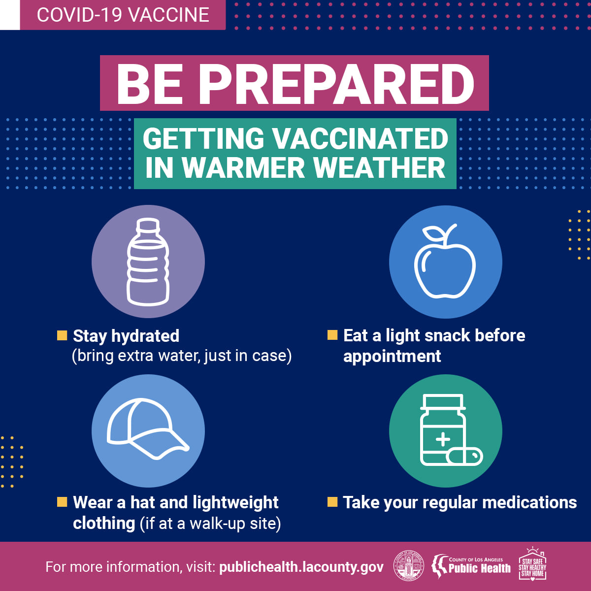 Getting Vaccinated in Warmer Weather