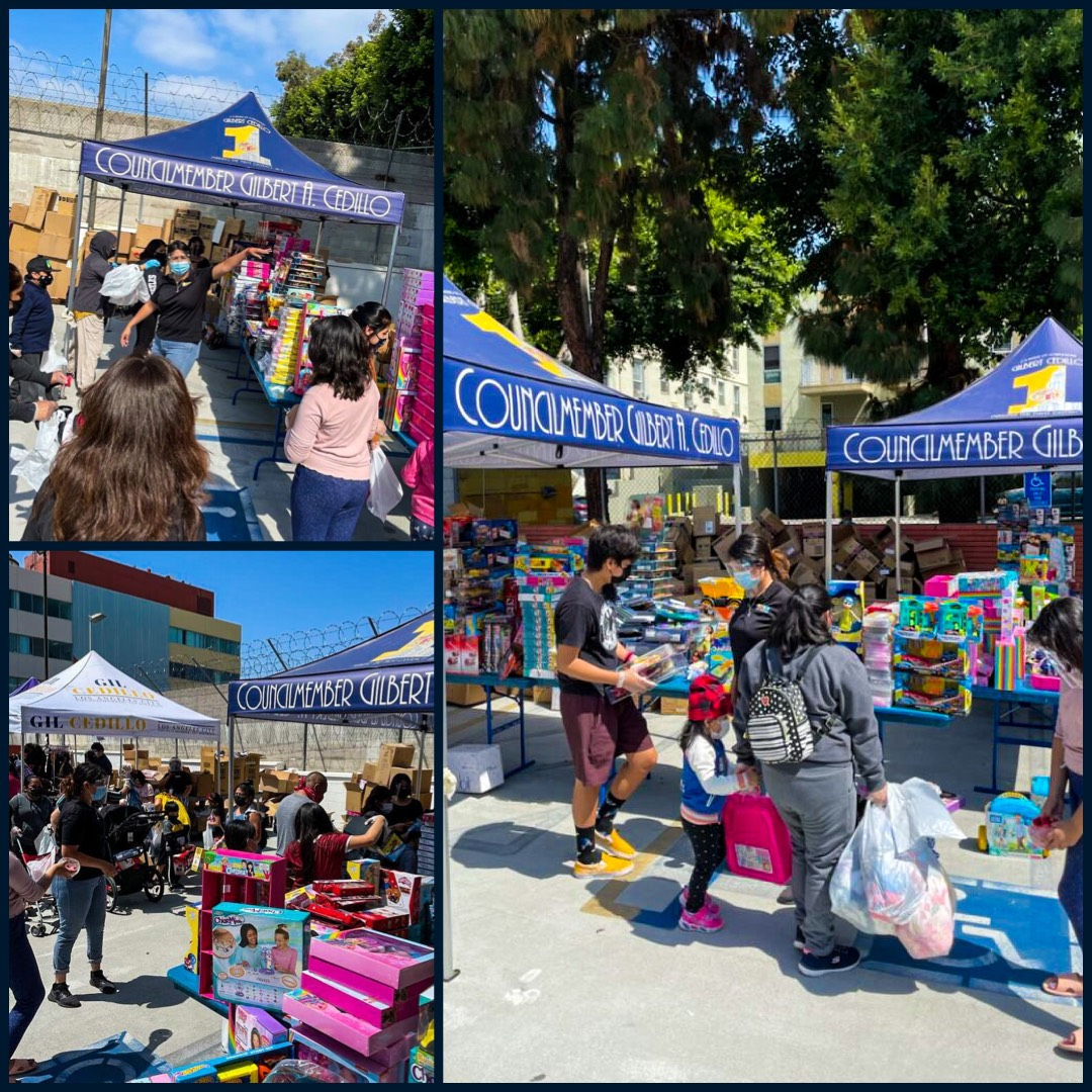 Team Cedillo, CCNP - clothing & toys in Westlake - Customer Appreciation Day & Day of the Child 4-20-2021 COLLAGE