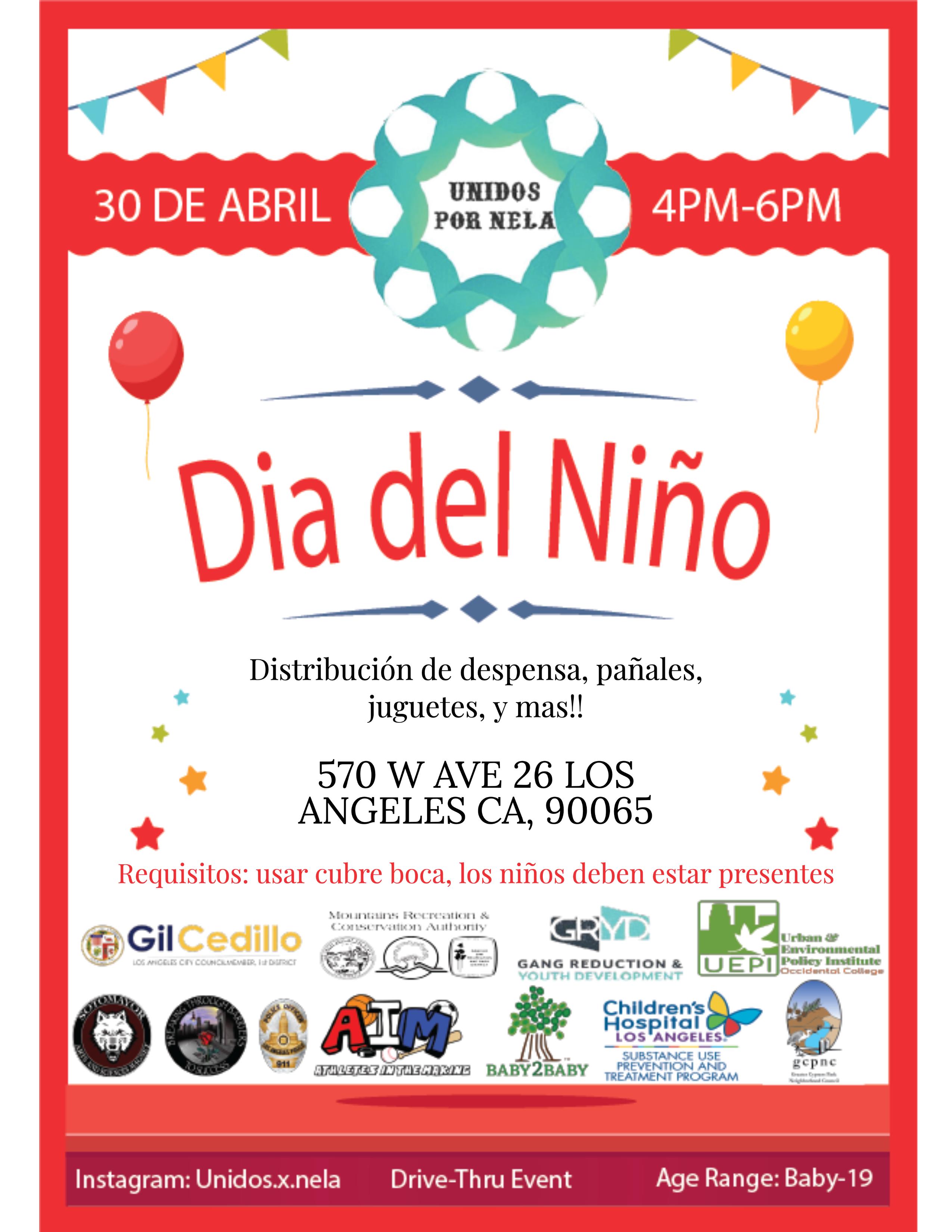 Dia del Niño Spanish Flyer
