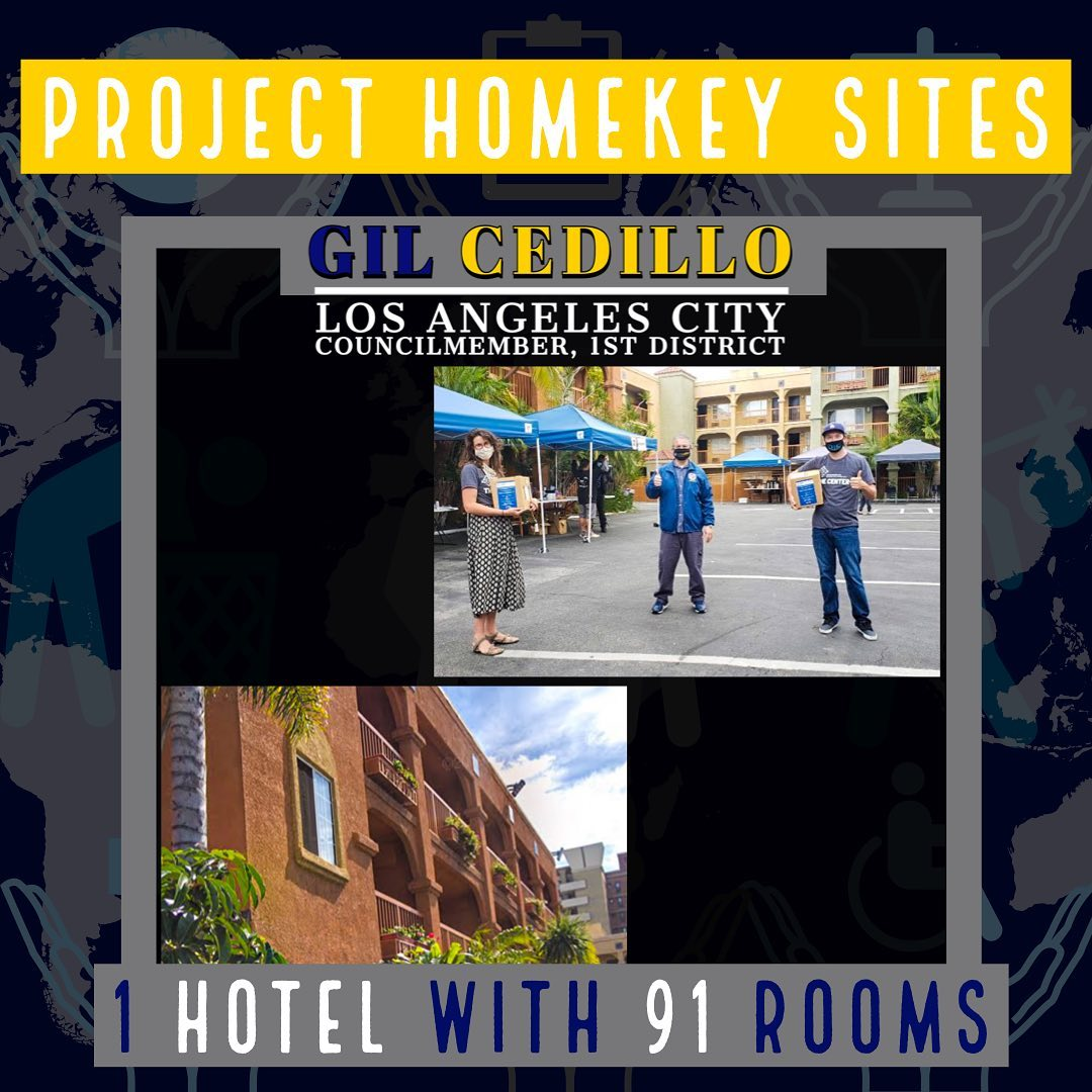 Unhoused Neighbors Project Home Key Sites 1 hotel con 91 rooms