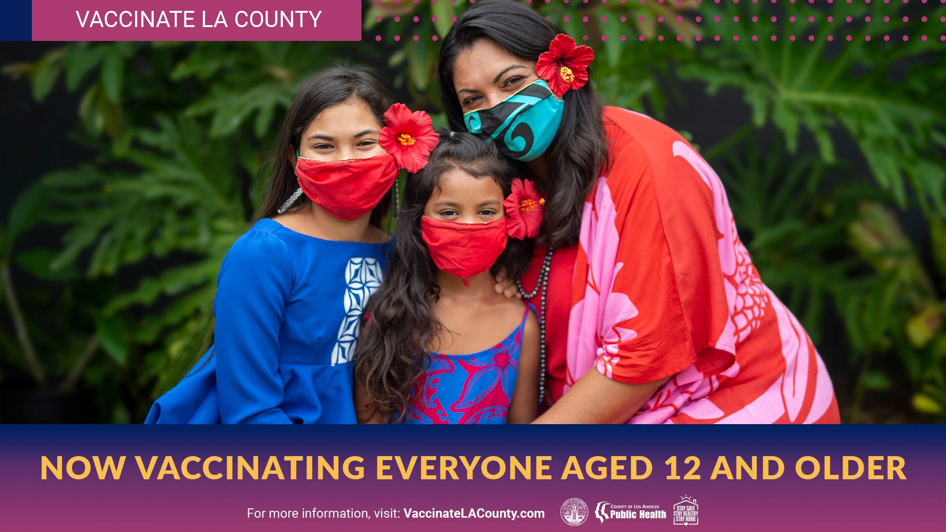 Now Vaccinating Everyone Aged 12 and Older
