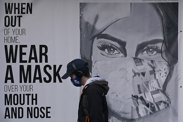 Wear a Mask over your Mouth and Nose