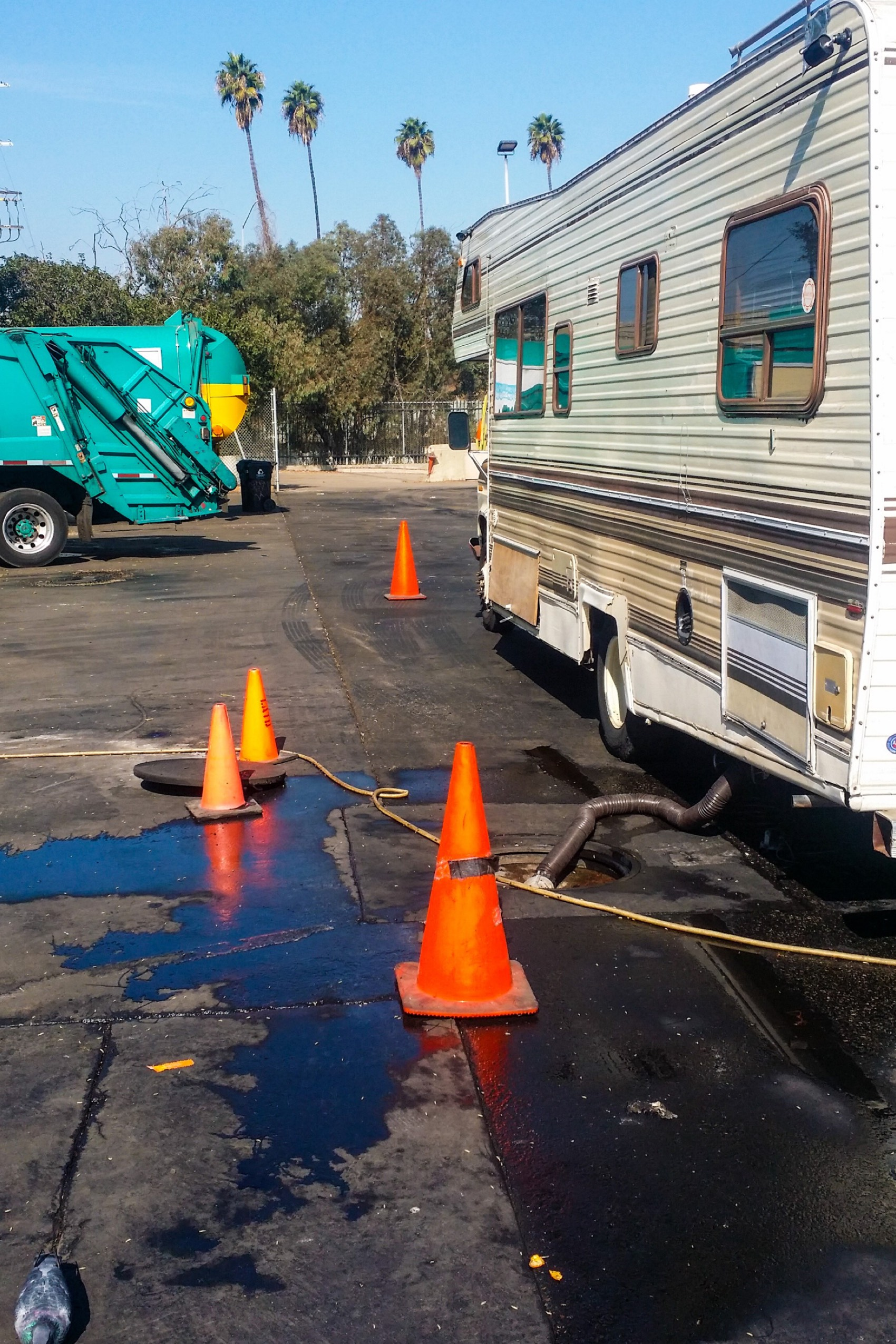 RV Waste Disposal Site in Lincoln Heights Provided by Councilmember Gil Cedillo