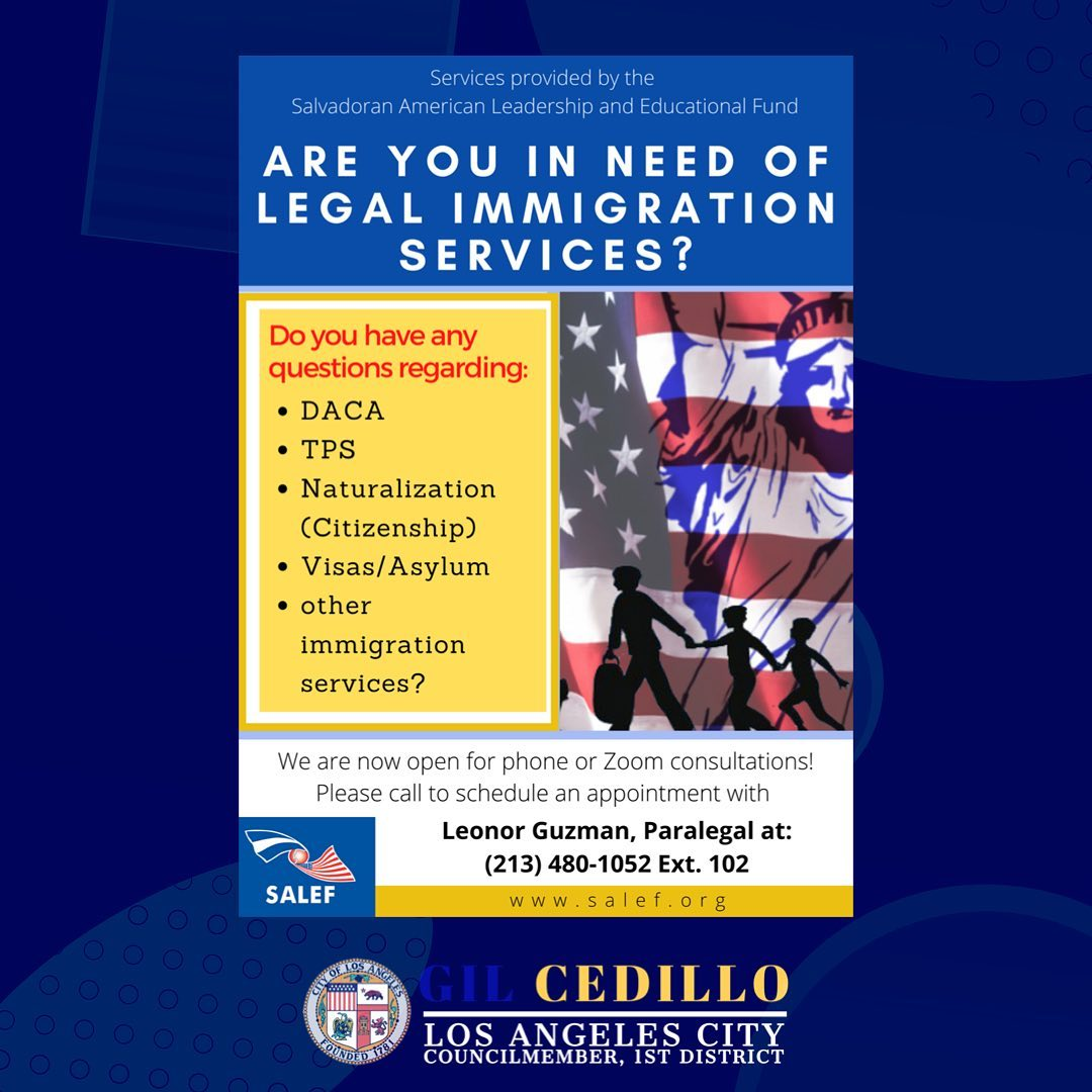 SALEF Legal Immigration Services English