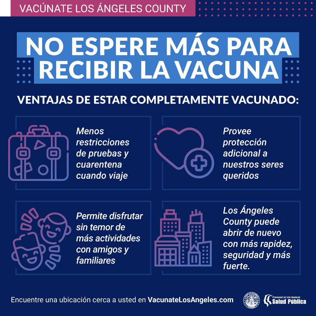 Don't Wait to Get Vacinated - Spanish