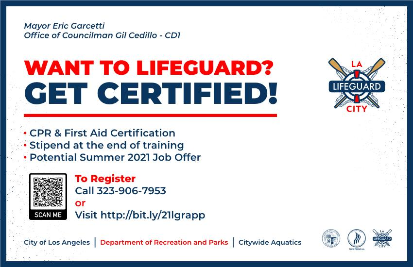 Want to Lifeguard Get Certified